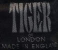Kalhoty TIGER OF LONDON cotton black