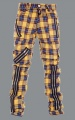 Kalhoty TIGER OF LONDON tartan yellow