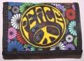 Peněženka PEACE flowers
