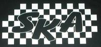 Zádovka SKA inside nápis