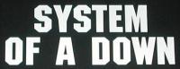 Zádovka SYSTEM OF A DOWN nápis