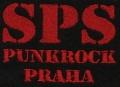 Nášivka SPS punkrock Praha červená vyšívaná