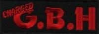 Nášivka G.B.H. red vyšívaná