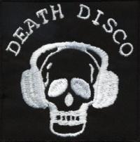 Nášivka DEATH DISCO vyšívaná
