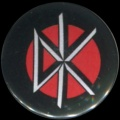 Placka 25 DEAD KENNEDYS logo color