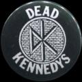 Placka 25 DEAD KENNEDYS logo wall