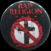 Placka 25 BAD RELIGION under