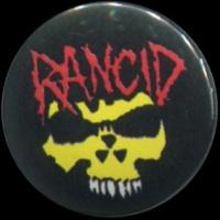 Placka 25 RANCID lebka color