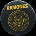 Placka 25 RAMONES yellow