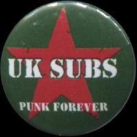 Placka 25 U.K. SUBS punk forever