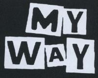 Nášivka MY WAY
