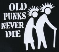 Nášivka OLD PUNKS duo