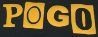 Nášivka POGO yellow