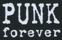 Nášivka PUNK forever