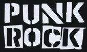 Nášivka PUNK ROCK