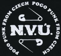 Nášivka N.V.Ú. duo sichr bw