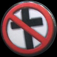Placka 25 BAD RELIGION kříž