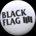 Placka 25 BLACK FLAG