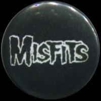 Placka 25 MISFITS nápis