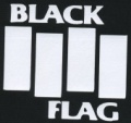 Nášivka BLACK FLAG
