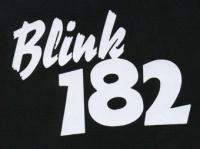 Nášivka BLINK 182 nápis