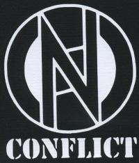 Nášivka CONFLICT logo