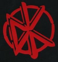 Nášivka DEAD KENNEDYS logo red