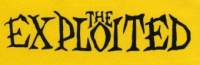 Nášivka EXPLOITED clas yellow