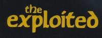 Nášivka EXPLOITED nápis yellow