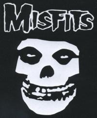 Nášivka MISFITS mask