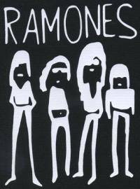 Nášivka RAMONES band
