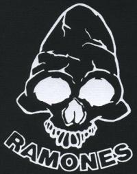 Nášivka RAMONES skull