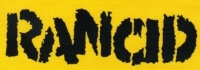 Nášivka RANCID yellow