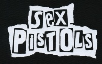 Nášivka SEX PISTOLS under bw