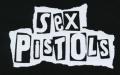 Nášivka SEX PISTOLS under bw