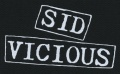 Nášivka SEX PISTOLS Sid Vicious