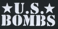 Nášivka U.S. BOMBS