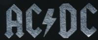 Nášivka AC/DC silver