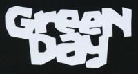 Nášivka GREEN DAY bílá