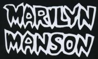 Nášivka MARILYN MANSON bw