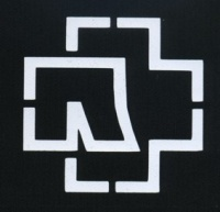 Nášivka RAMMSTEIN logo