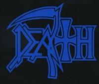 Nášivka DEATH modrá
