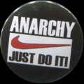 Placka 25 ANARCHY JUST DO IT
