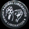 Placka 25 ANIMAL LIBERATION