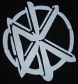 Zádovka DEAD KENNEDYS logo white