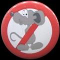 Placka 25 DERATIZÉŘI myš