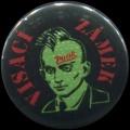 Placka 25 VISACÍ ZÁMEK punk