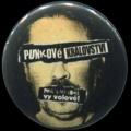 Placka 25 VISACÍ ZÁMEK punkový království hlava