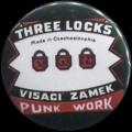 Placka 25 VISACÍ ZÁMEK three locks