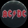 Placka 25 AC/DC red